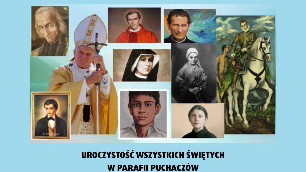 Uroczystość Wszystkich Świętych w Parafii Puchaczów 2018