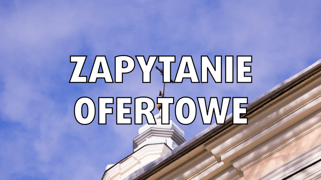 Parafia Puchaczów - zapytanie ofertowe