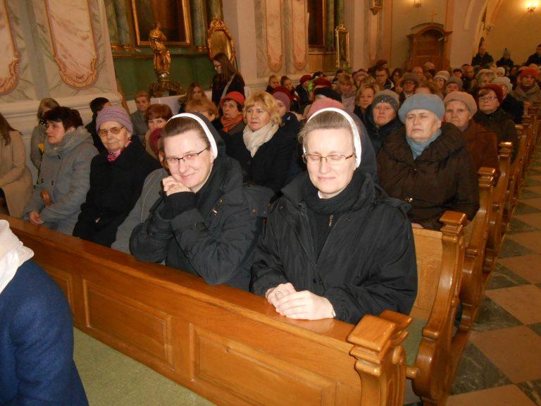 Wizyta Sióstr Felicjanek w Puchaczowie-Parafia Puchaczów (1)