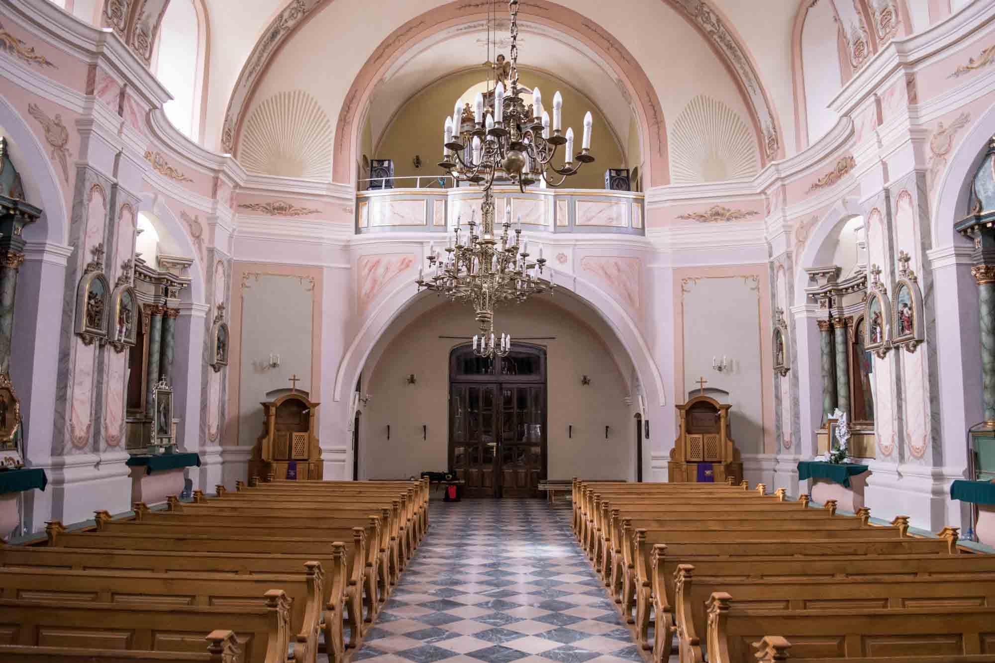 Kościół w Puchaczowie - wirtualny spacer 360-Parafia Puchaczów